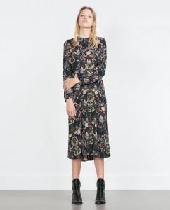 rochie imprimeu2 zara