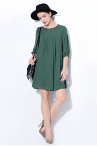 rochie verde Poema