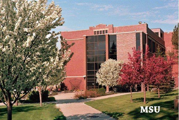 Minot State University Campus Map.Campus Map University Minot State