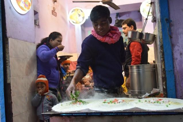 Dosa Varanasi Street Food