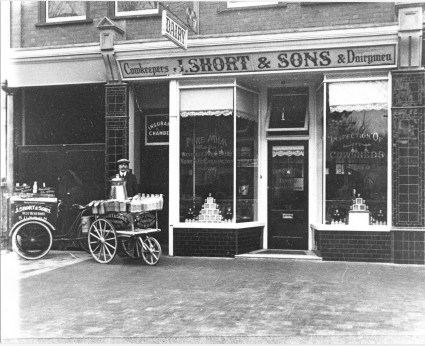 J. Short & Sons Dairymen in Grove Rd, Sutton