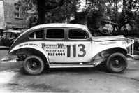 Sponsorship of a stock car
