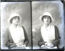 Miss M Bowles, 1914