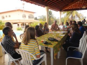 A Reunião aconteceu na residência do casal Mauro e Stela. A Semana Nacional da Família foi um dos temas. Como era domingo não faltou o almoço que foi ofertado pelos anfitriões.
