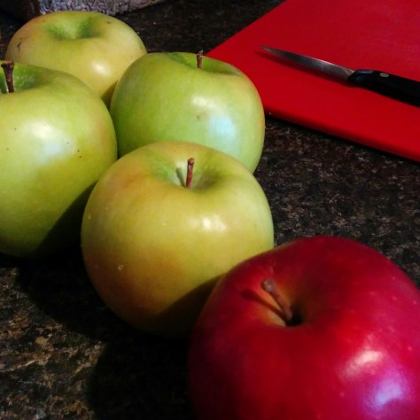 Granny Smith & Red Delicious Apples