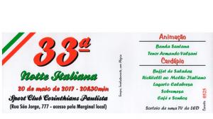 33ª Noite Italiana