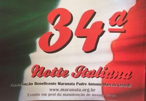 34ª Noite Italiana