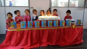 Aniversários Creche março 2017
