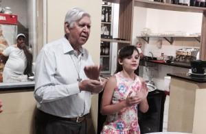 Aniversário Padre Antônio Marcos - 81 anos.