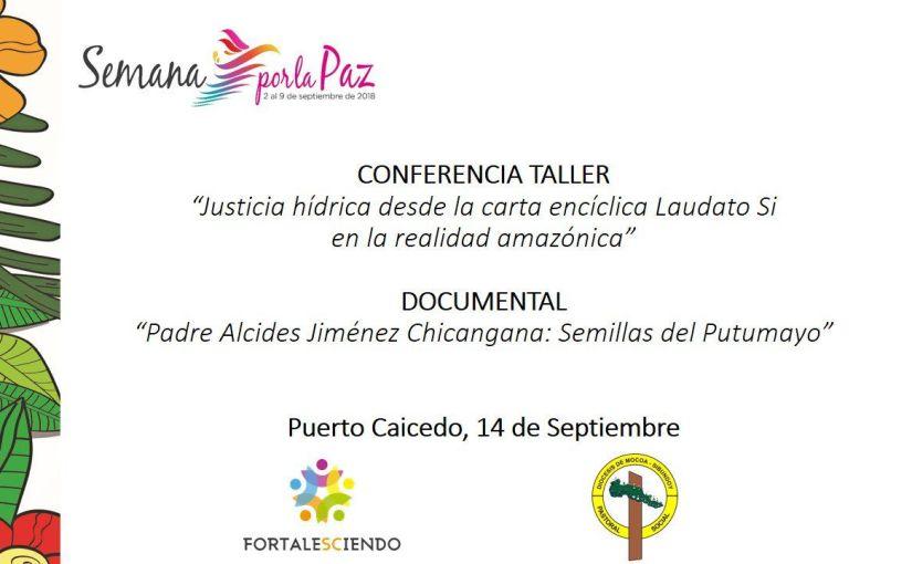 Semana por la Paz en Puerto Caicedo