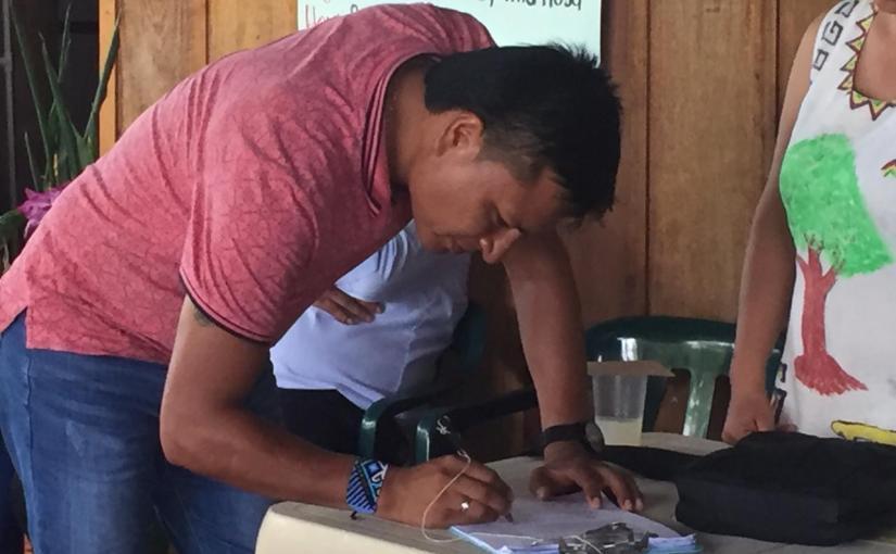Acuerdos Institucionales Comunidad Murui Monilla Amena – Puerto Asís, Putumayo