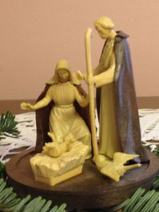 The First Nativity for My First Apartment