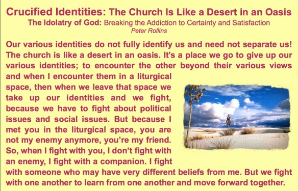 Crucified Identities Peter Rollins PastorDawn