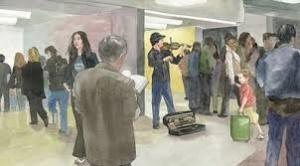 Joshua bell Subway1