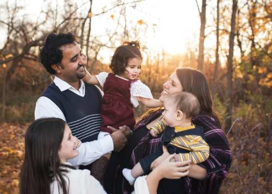 Pastor Aamir Din and Family