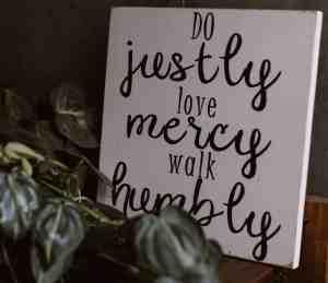 The Wisdom of Mercy