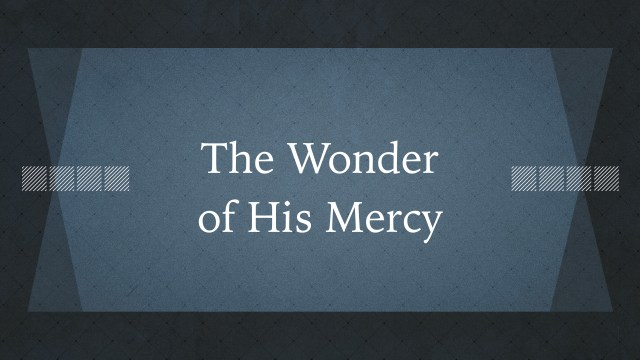 Wonder of His Mercy.001