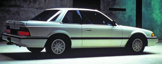 This 1986 Honda Prelude looks similar to the one I drove during college.