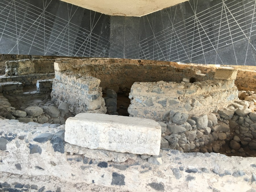"Picture #3 - Peter's House ""Church"" in Capernaum"