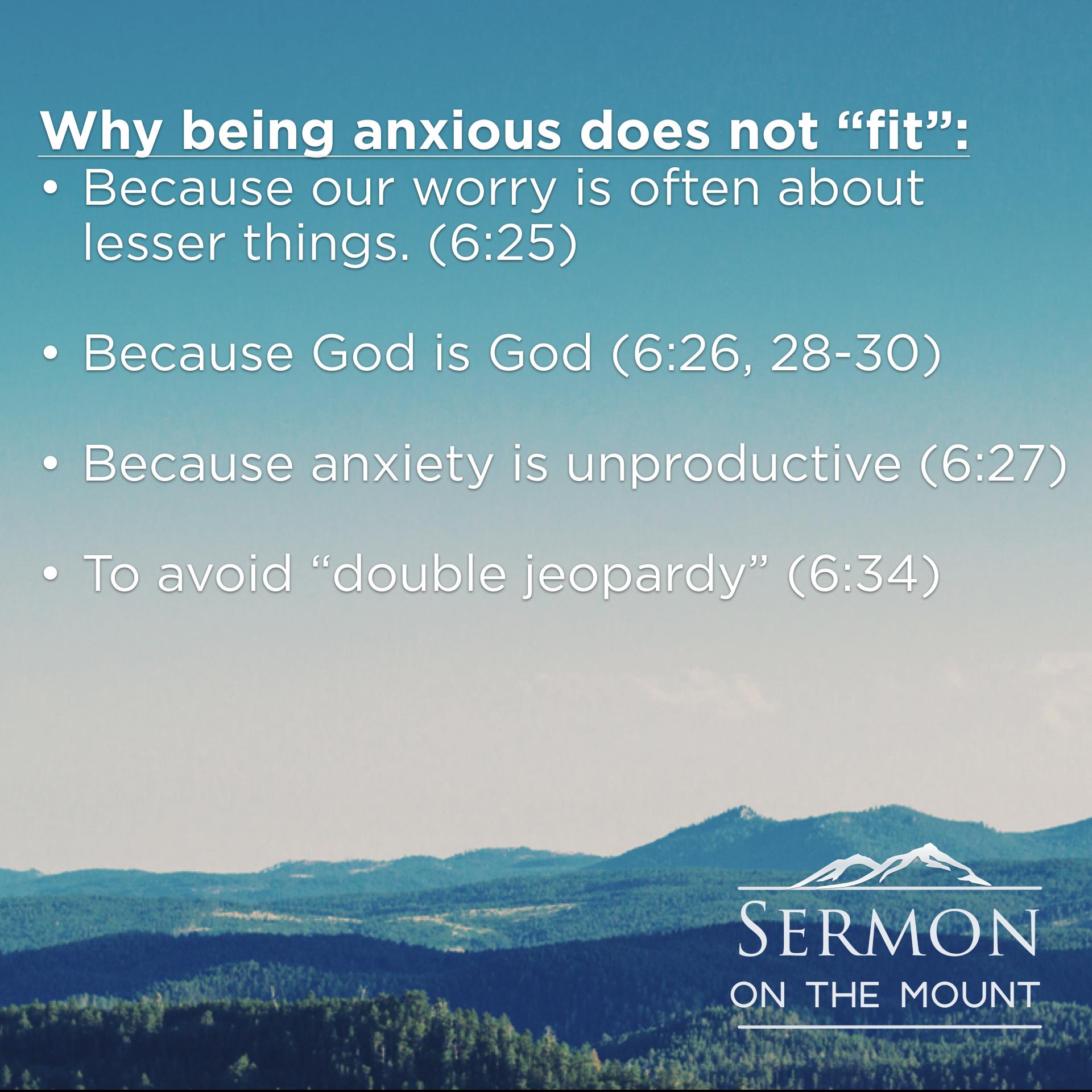 Sermon on the Mount – Pastor Mark Robinson  com