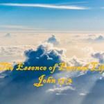 The Essence of Eternal Life John 17:3