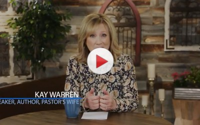 The Truth Behind Being a Pastor's Wife from Kay Warren