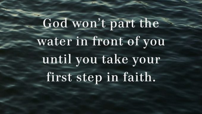 Take a Step of Faith in Spite of Your Fear - Pastor Rick's Daily Hope