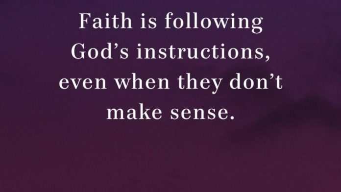 Can you Carry out the instructions of GOD?