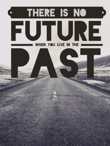no future in the past, new beginnings