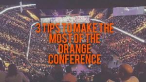 Orange conference tips