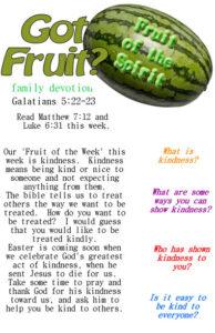 Got Fruit kindness