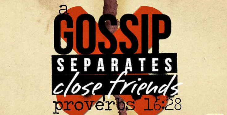 How do we stop Gossiping Pastor Unlikely