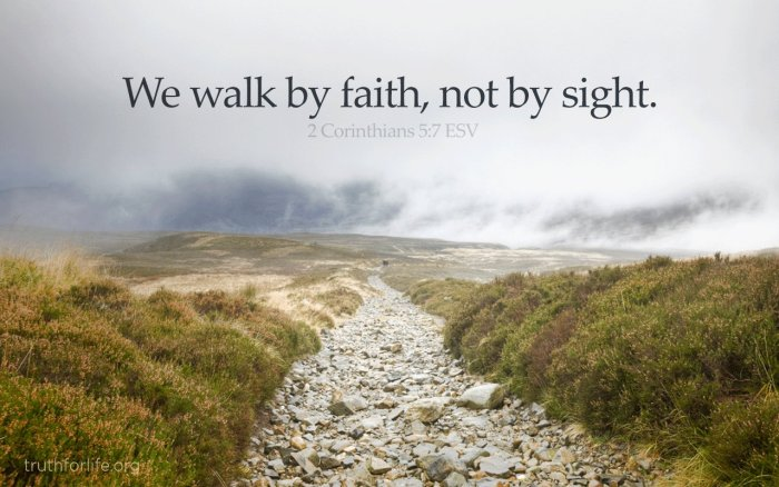 2 Cor 5 Abraham Walked by Faith Pastor Unlikely
