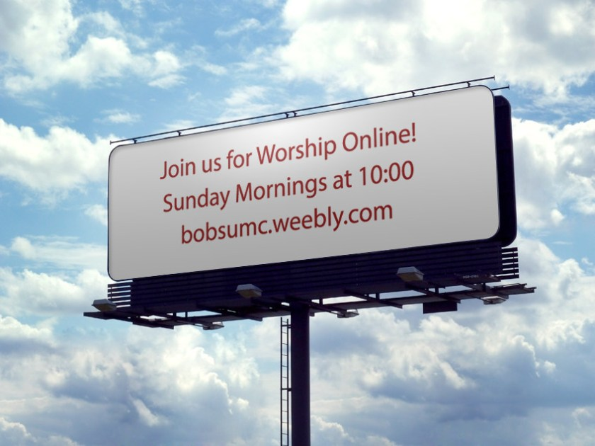 Bob's UMC Billboard