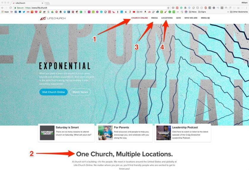 Life.Church Website
