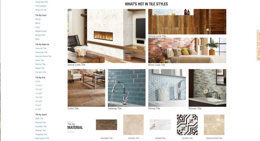 What can the church learn from The Home Depot - Tile ideas