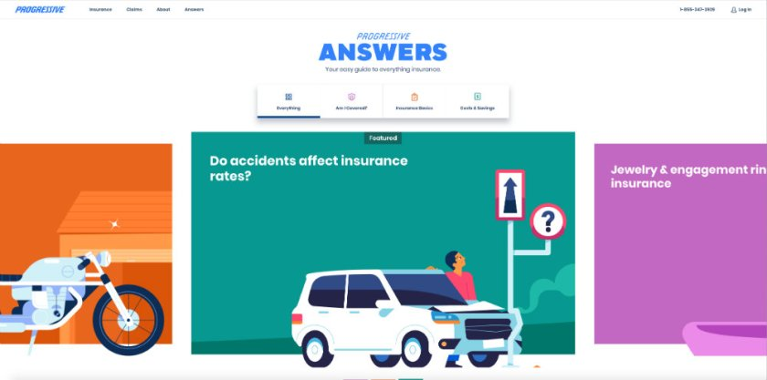 Progressive insurance provides answers to common insurance questions. Could you church use blogging to answer question for people in search of daycare?