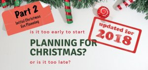 Part 2 Planning for Christmas - Featured