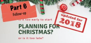 Part 6 Planning for Christmas - Featured