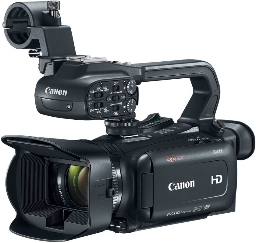 The Canon XA-11, a popular option for church live streaming, was hard to find for a while.