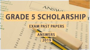 grade 5 scholarship exam past papers answers 2019