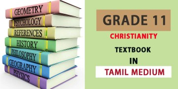 Grade 11 Christianity Textbook in Tamil Medium - New Syllabus
