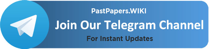 Past Papers WIKI Telegram Channel