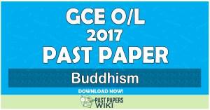 2017 O/L Buddhism Past Paper | Tamil Medium