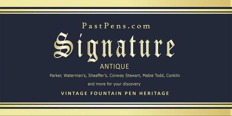 vintge antique fountain pen PastPens.com