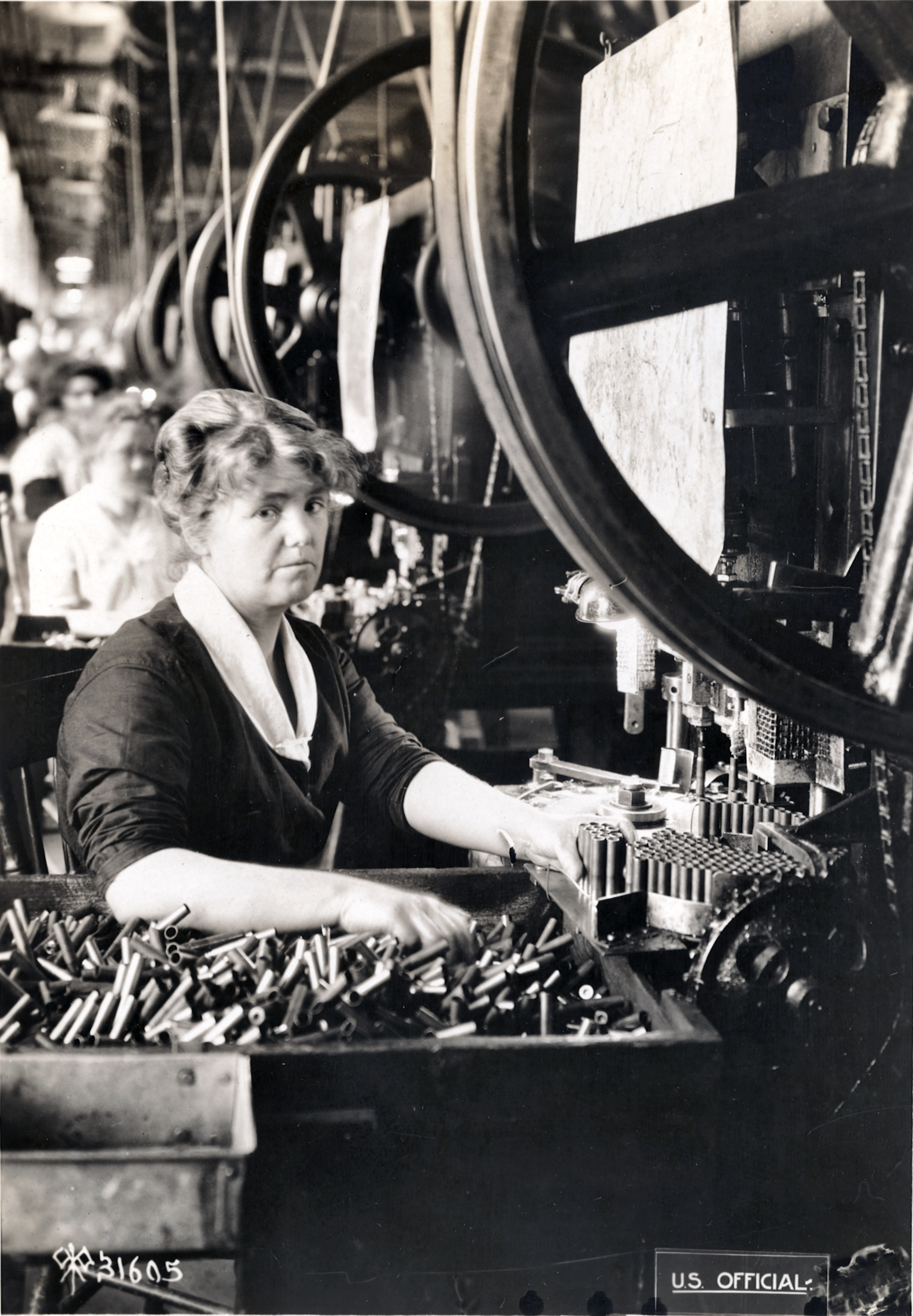 Woman At Work During World War I Between And