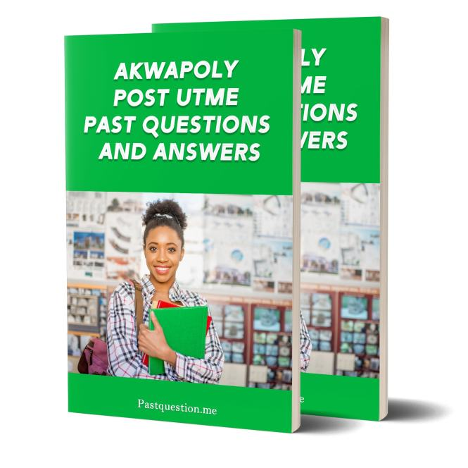 akwa poly post utme past questions and answers