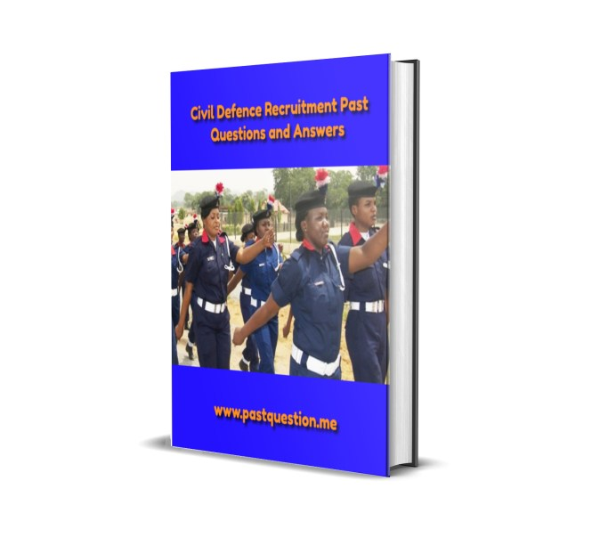 Civil Defence Past Questions and Answers
