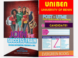 UNIBEN Post UTME Pst Questions and Answers
