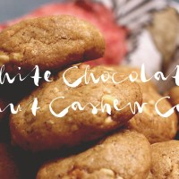 White Chocolate and Coconut Cashew Cookies
